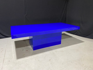 EP Electric Blue 4' x 8' Dinner Table