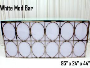 White Mod Bar - 8Ft.