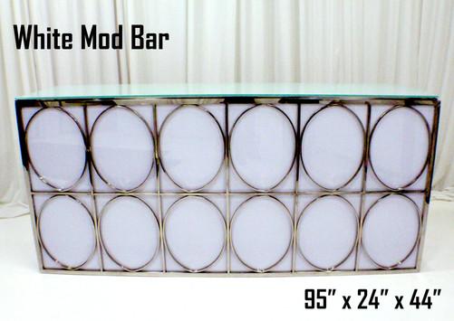 White Mod Bar 8Ft.