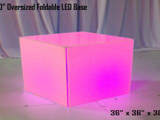 """LED Oversized Table Base - 36"""""""