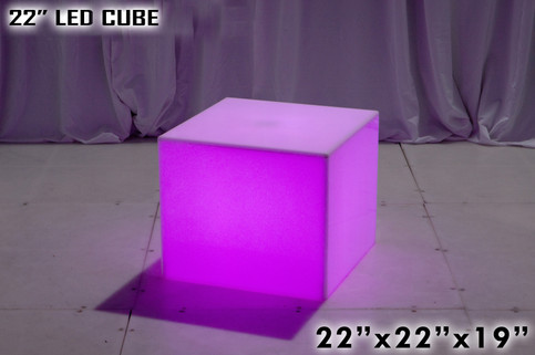 22 Inch LED Cube