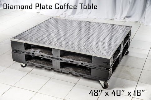 Diamond Plate Coffee Table