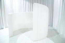 White Swirl Backdrop
