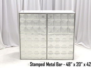 Stamped Metal Bar - 4Ft.
