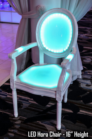 LED Chair with Arms