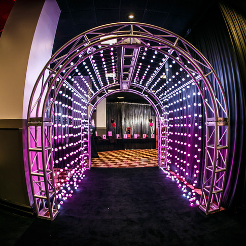 LED Pixel Ball Tunnel