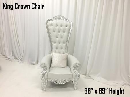 King Crown Chair
