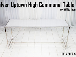 Silver Uptown High Communal Table White Insert.jpg