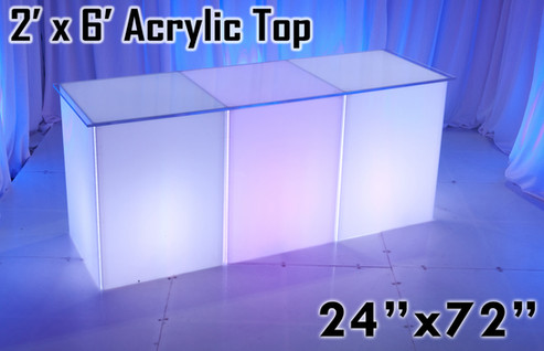 2 x 6 Acrylic Top