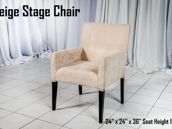 Beige Stage Chair