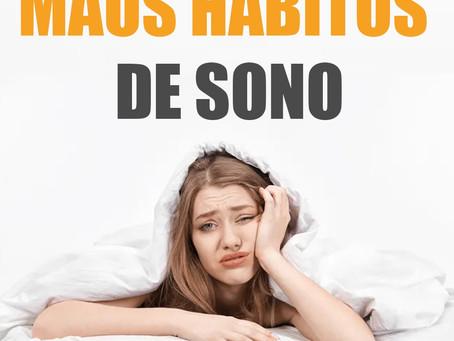 Livre-se dos maus hábitos para uma boa noite de sono