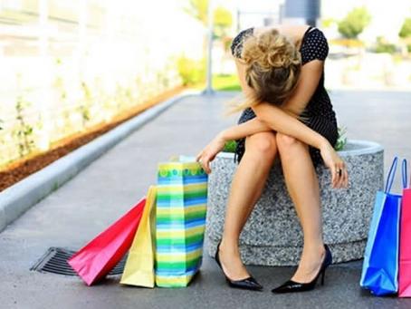 Oniomania - o transtorno de comprar compulsivamente