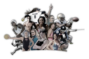 Custom Graphic for Sports Company Webpage