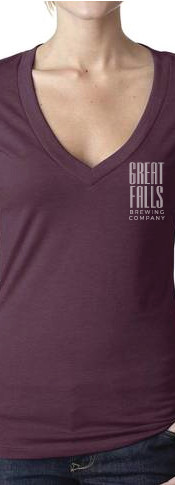 Ladies Plum Shirt