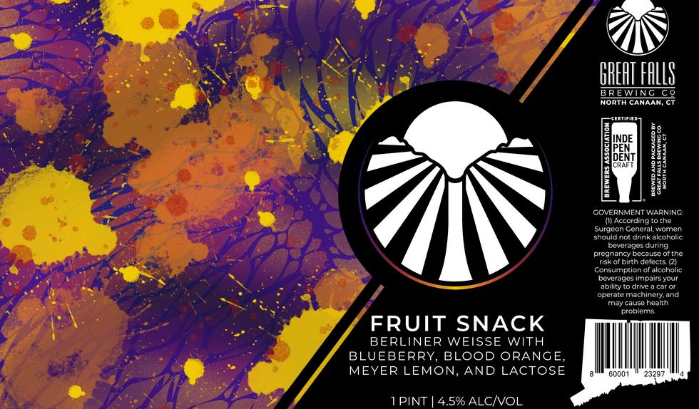 Fruit Snack Lemon, Blueberry, Blood Oran