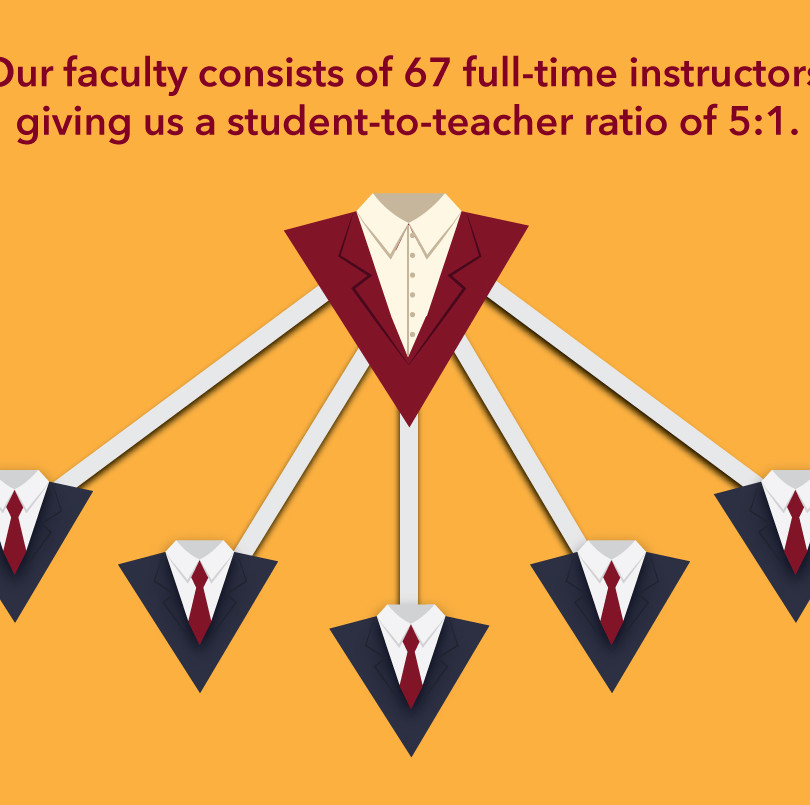 Faculty Stat Graphic