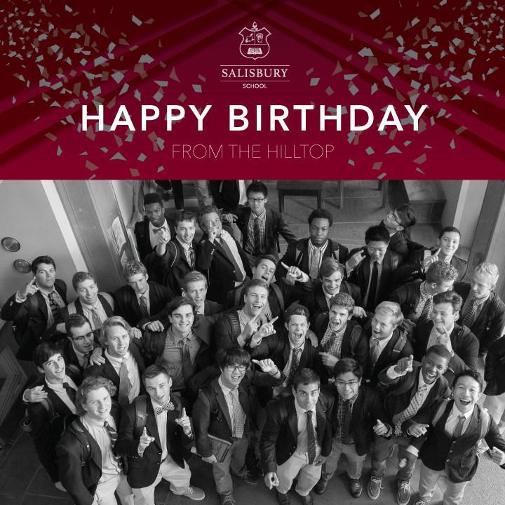Happy Birthday to Alumni