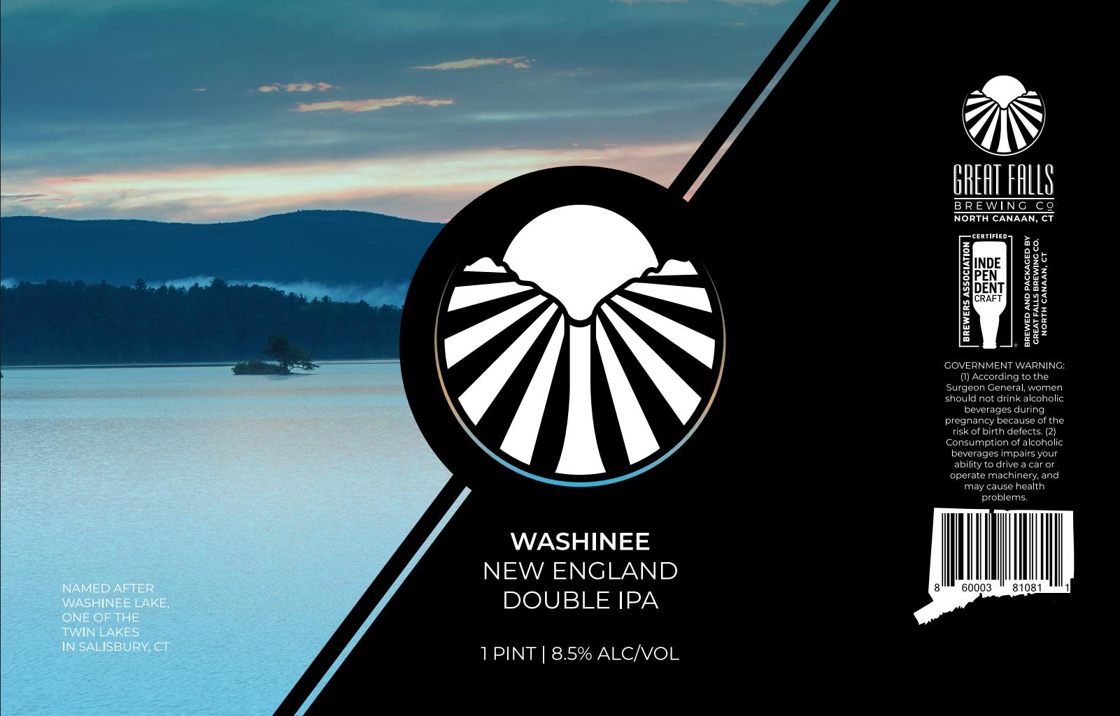 Washinee IPA Label