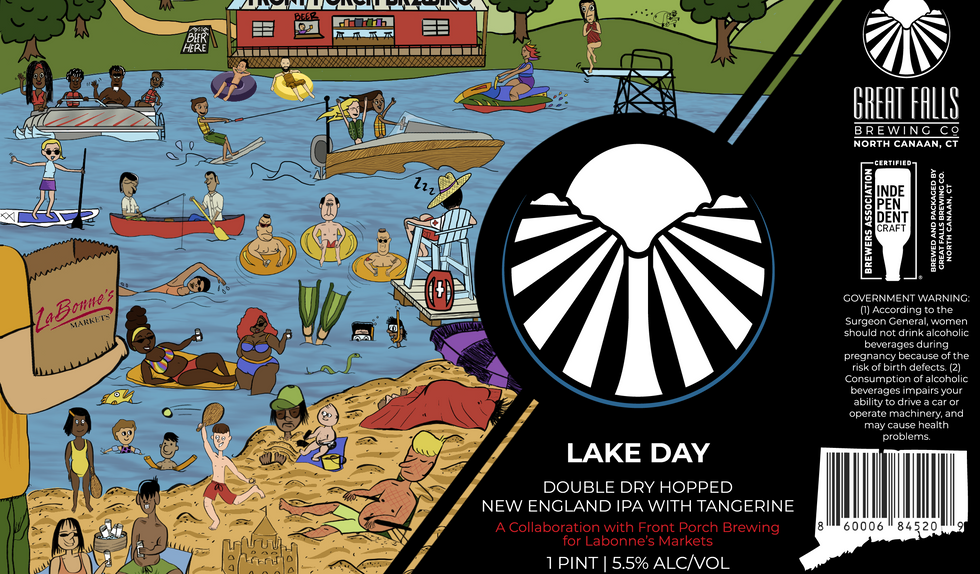 Lake Day IPA - In Collaboration with Fro