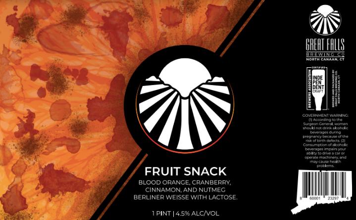FruitSnack #5 Label