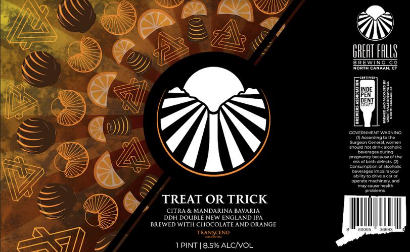 Treat or Trick Label