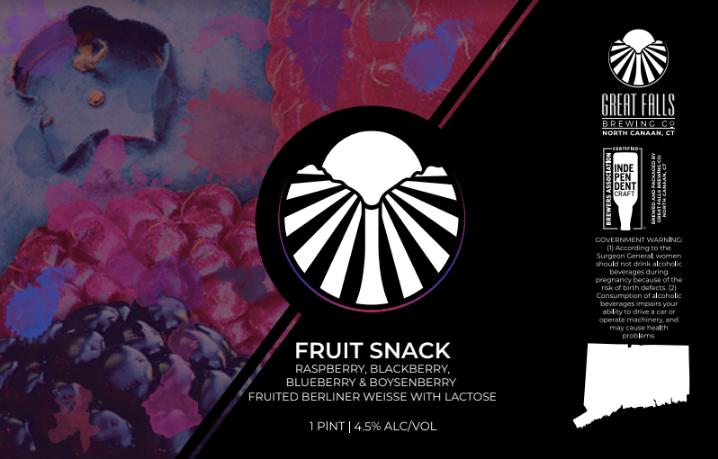 FruitSnack #4 Label
