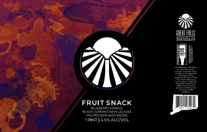 FruitSnack #3 Label