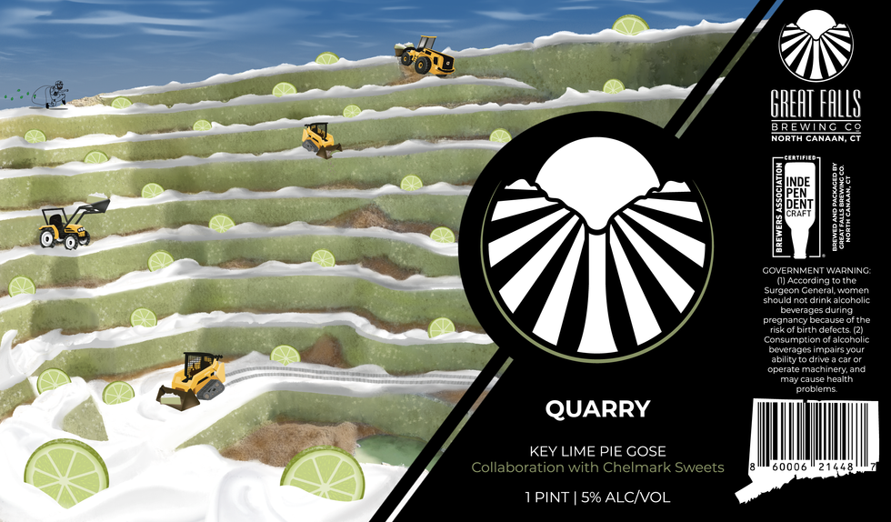 Quarry; Key Lime Pie Gose