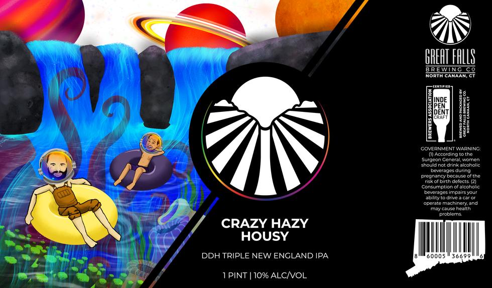 Crazy Hazy Housy; Triple IPA