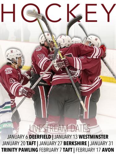 Hockey post for social media