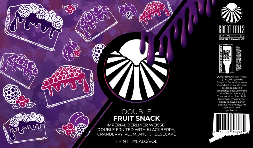Double Fruit Snack; Fruited Sour