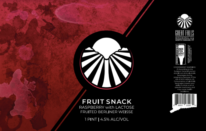 FruitSnack #1 Label