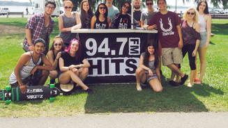 Lancement de l'application 94.7 Hits-FM (2015)