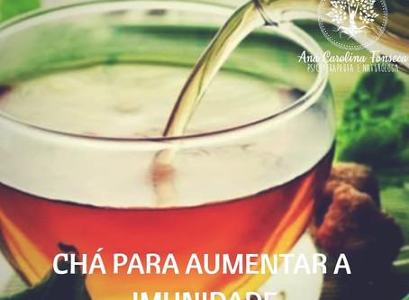 Chá para aumentar imunidade