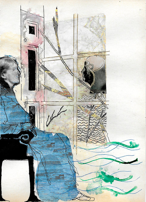 Artwork: Virginia Woolf imagines the Novel
