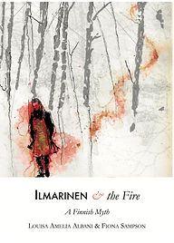 Ilmarinen and the Fire bookjacket ALBANI