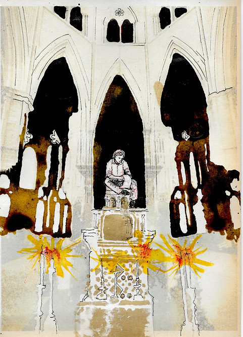 Artwork: William Blake at Westminster Abbey