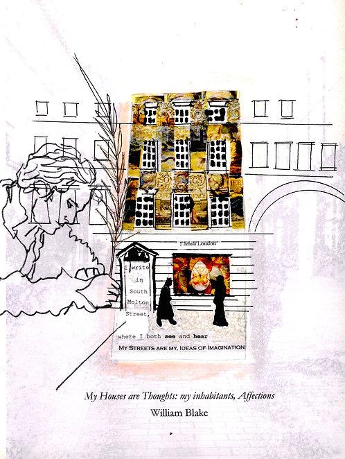 Artwork: William Blake on South Molton Street