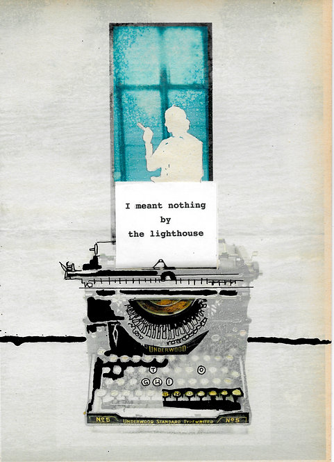 Artwork: I meant nothing by The Lighthouse