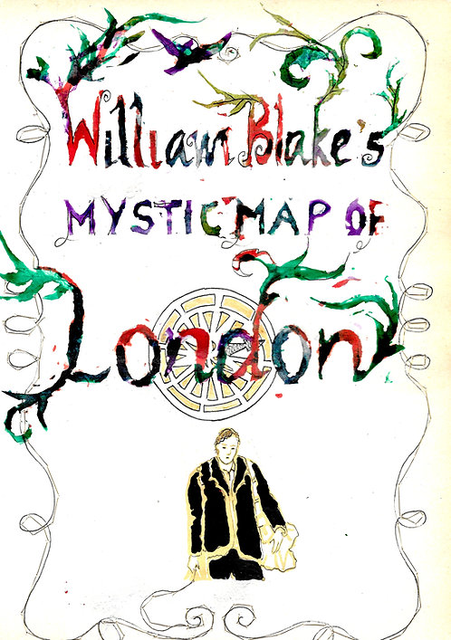 William Blake's Mystic Map of London pamphlet