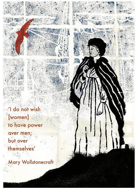 Mary Wollstonecraft A4 print