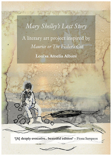 Mary Shelley's Lost Story pamphlet