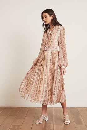 LEENA PLEATED DRESS
