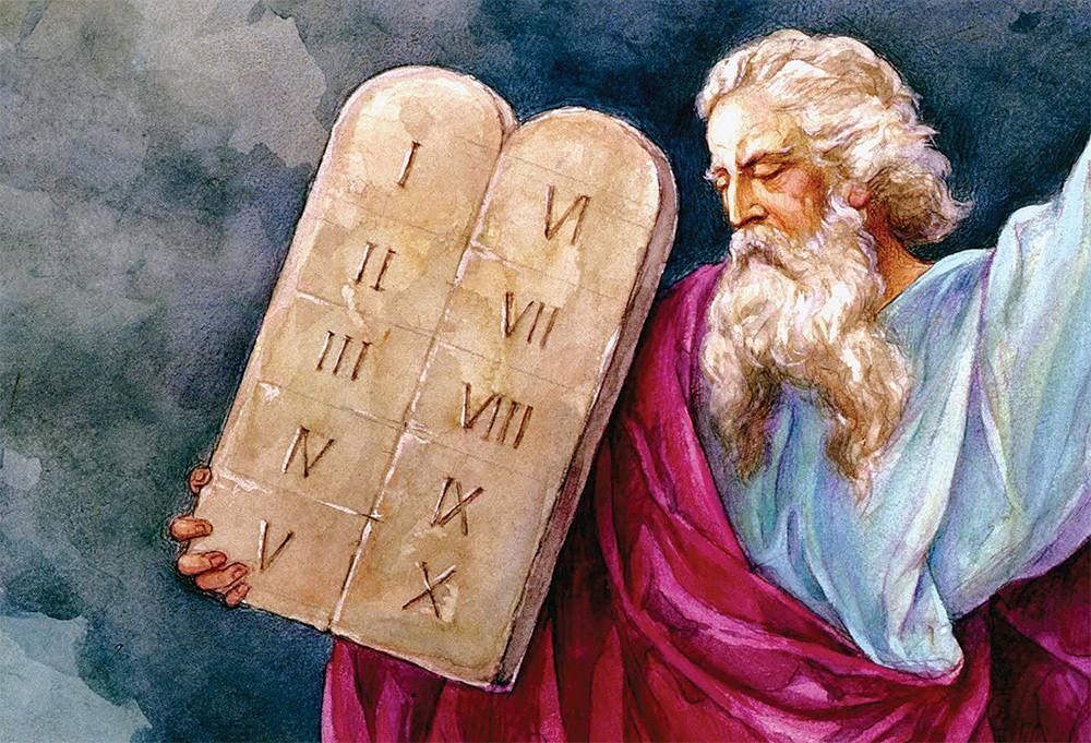 Moises e os Dez Mandamentos
