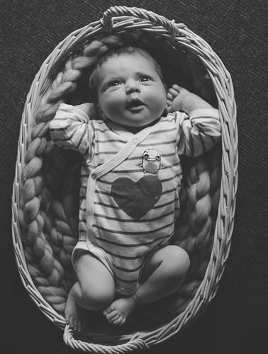 vauvakuvaus, vastasyntyneen kuvaus