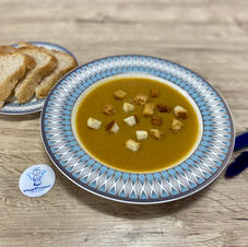 Крем-суп із сочевиці