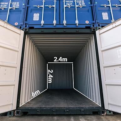 Surrey Storage Container Storage sizingf
