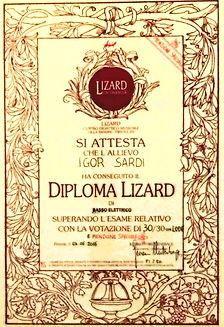 Diploma Igor 30/30 e mensione speciale