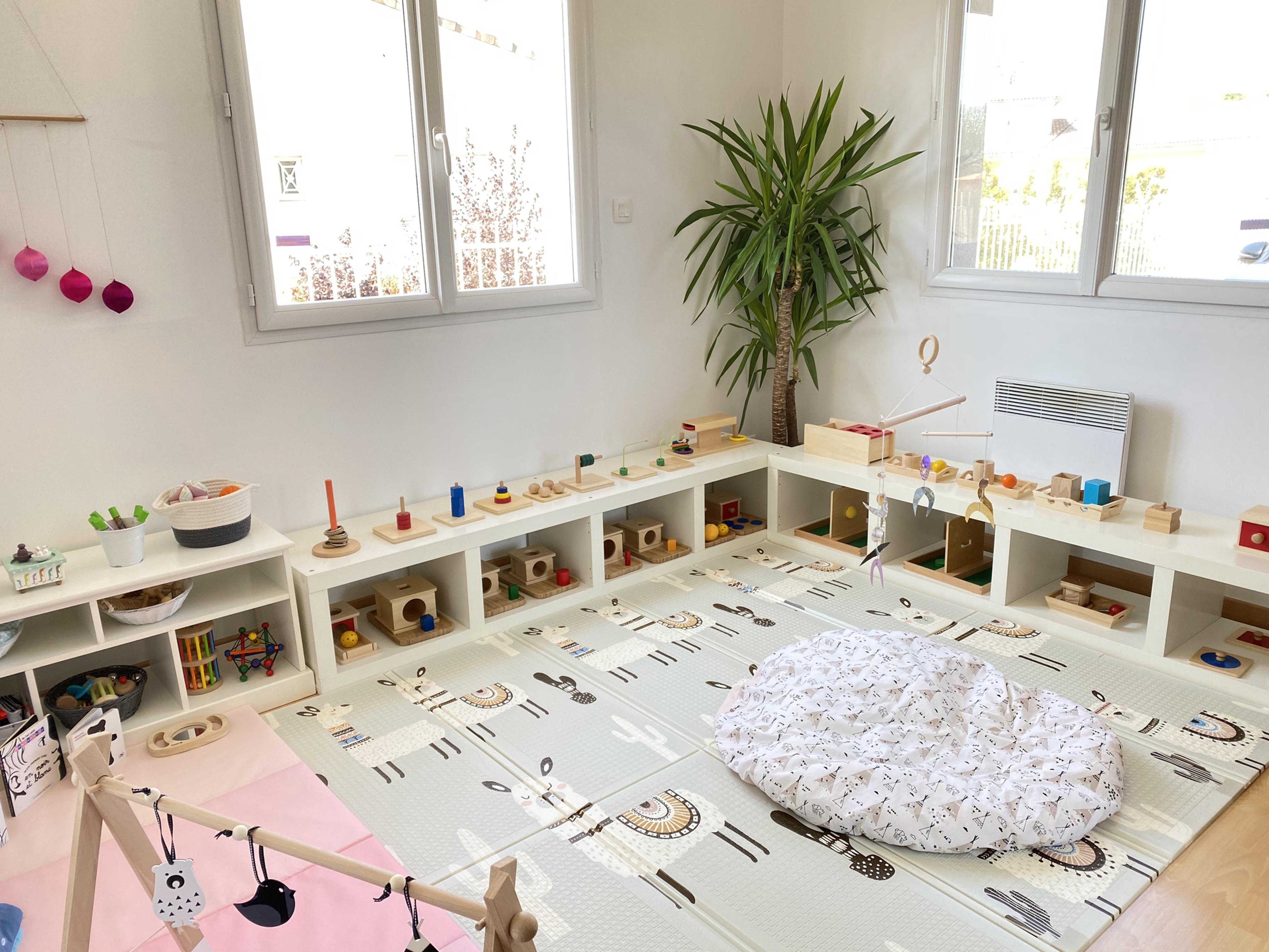 Ateliers Montessori 0/3ans (ass. mat.)