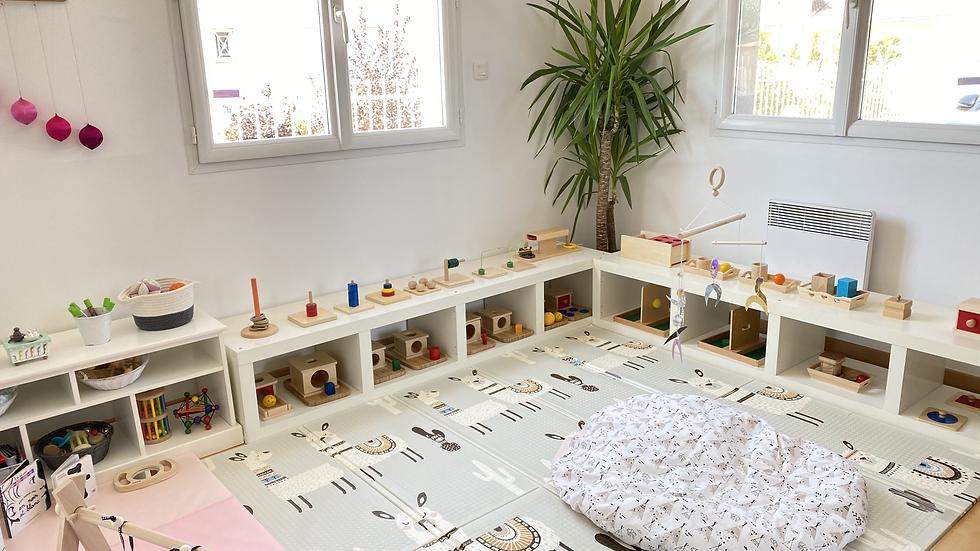Offrir une ou plusieurs séance(s) Montessori de la naissance à 3 ans